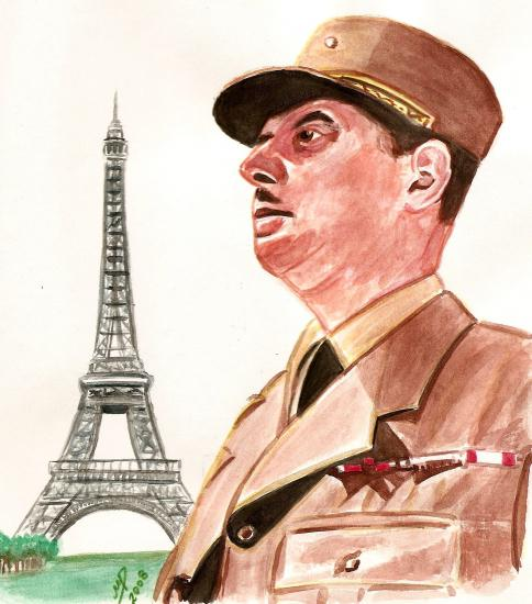 Charles de Gaulle by Marino63